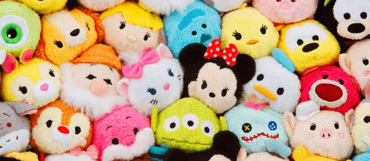 Disney Tsum Tsums make the best teething toys via Toby & Roo :: daily inspiration for stylish parents and their kids.
