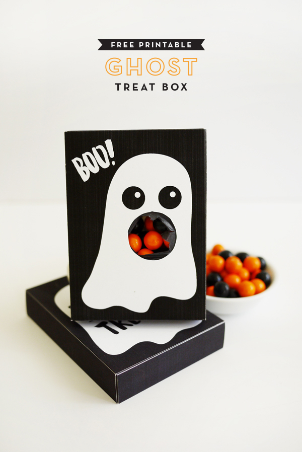 Halloween printables from Oh Happy Day! via Toby & Roo :: daily inspiration for stylish parents and their kids.