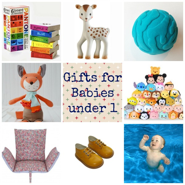 2015 gift guides :: Gifts for babies under 1 year old via Toby & Roo :: daily inspiration for stylish parents and their kids.