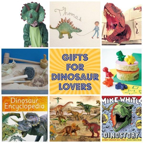 Birthday gifts for dinosaur lovers via Toby & Roo :: daily inspiration for stylish parents and their kids.