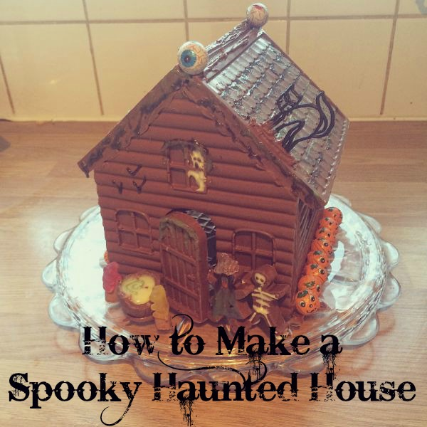 How to make a spooky haunted house for Halloween via Toby & Roo :: daily inspiration for stylish parents and their kids.