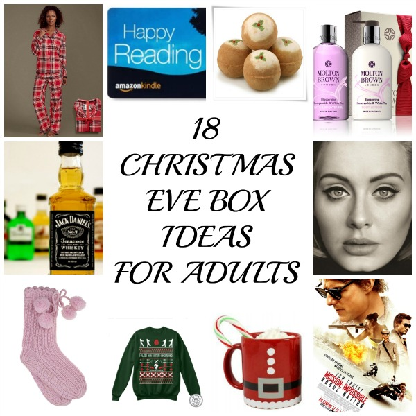 18 christmas eve box ideas for adults because everyone deserves a bit of festive fun