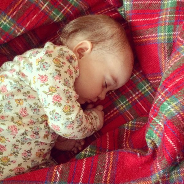 Edith's sleep situation :: coping with sleep refusal via Toby & Roo :: daily inspiration for stylish parents and their kids.