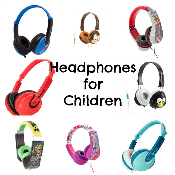 Cool headphones for children via Toby & Roo :: daily inspiration for stylish parents and their kids.