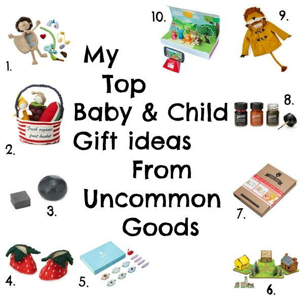 Blogger takeover :: My top picks for baby and child gifts from Uncommon Goods via Toby & Roo :: daily inspiration for stylish parents and their kids.