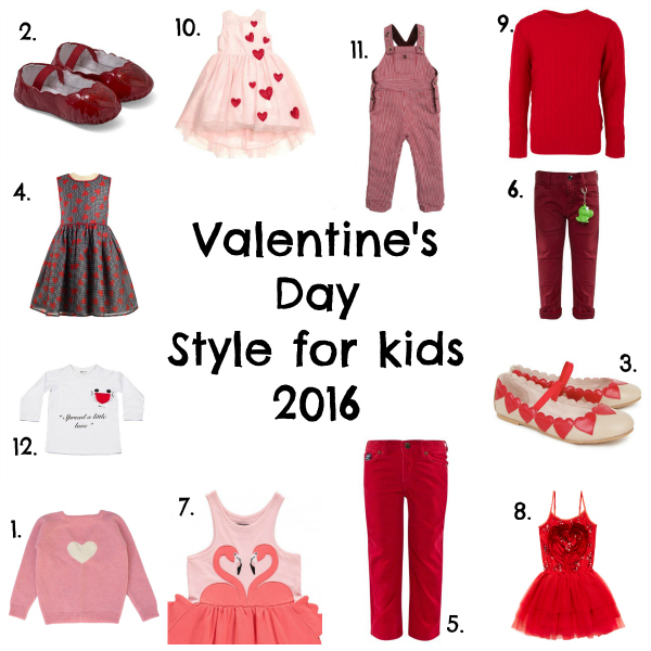 Valentine's Day style for kids 2016 via Toby & Roo :: daily inspiration for stylish parents and their kids.
