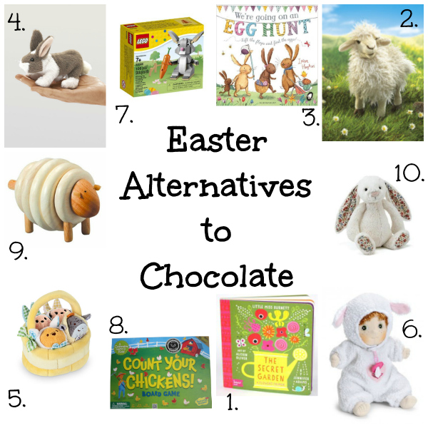 Great Easter Alternatives to chocolate for kids via Toby & Roo :: daily inspiration for stylish parents and their kids.