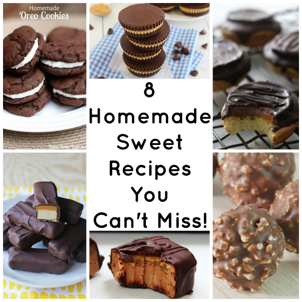 homemade sweet recipes