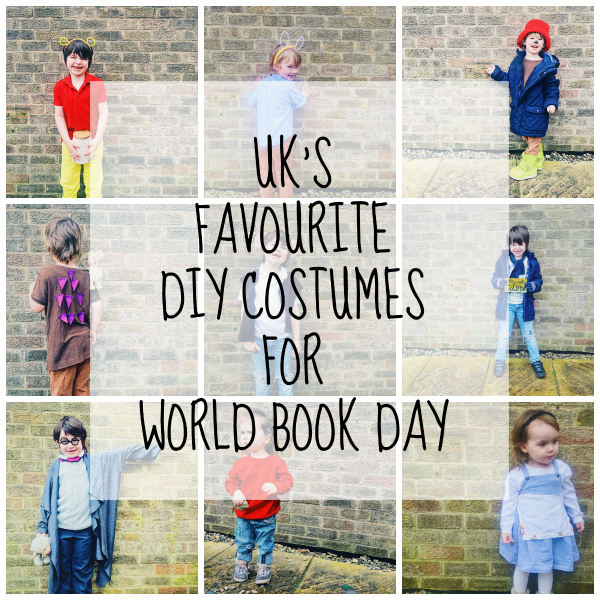 UKu0027s Top 10 DIY costumes for World Book Day (for under £10!)  sc 1 st  Toby and Roo & UKu0027s Top 10 DIY costumes for World Book Day (for under £10!) - Toby ...