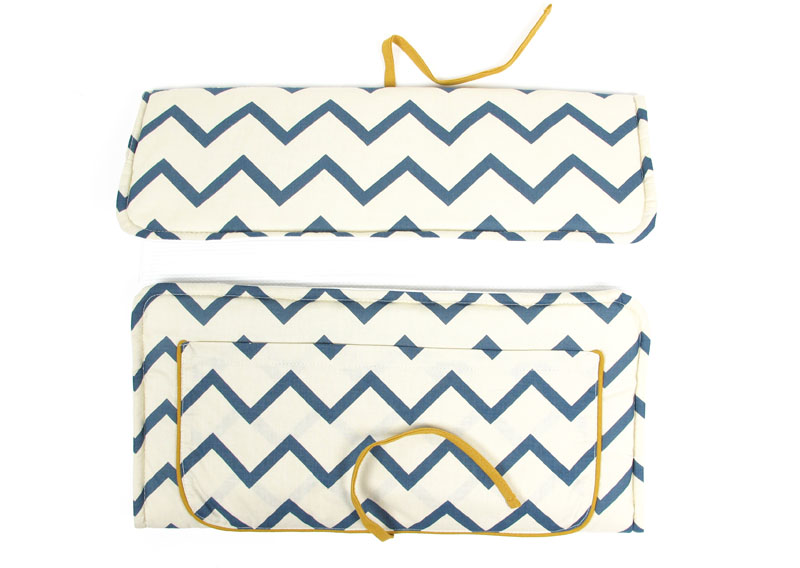 Portable changing mats from Nobodinoz are super stylish and so practical.