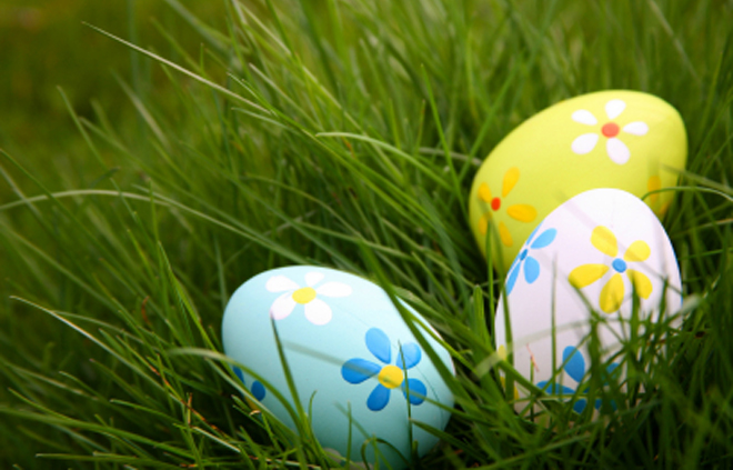Easter egg hunts are so fun! Easy to organise - inexpensive to do.