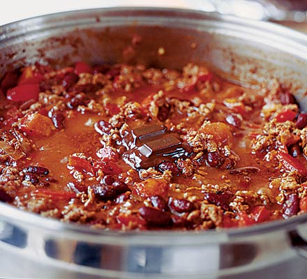 Chocolate chilli con carne is devine, I promise you won't ever want to go back to the old way.