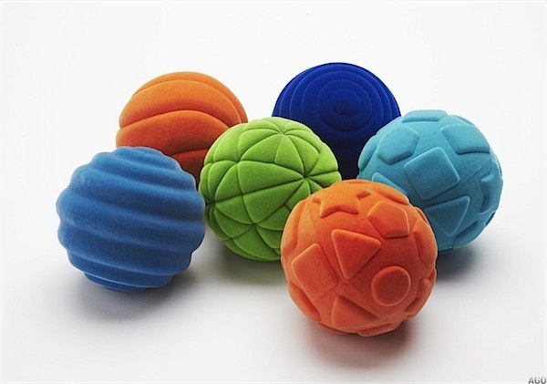 Rubbabu balls for sensory & motor skills for baby via Toby & Roo :: daily inspiration for parents and their kids?