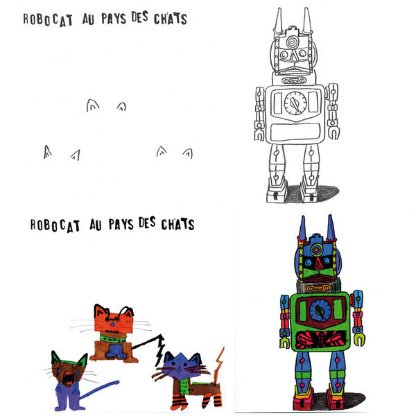 Colouring books from Mon Petiti Art via Toby & Roo :: daily inspiration for stylish parents and their kids.