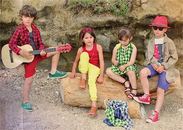 Sunchild beachwear style for kids via Toby & Roo :: daily inspiration and finds for stylish parents and their kids.