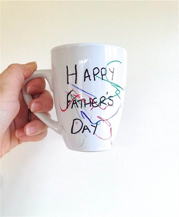 Personalised mugs for Father's day via Toby & Roo :: daily inspiration for stylish parents and their kids.