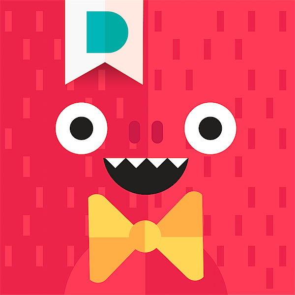 Monsters by Duckie Deck App via Toby & Roo :: daily inspiration for stylish parents and their kids.