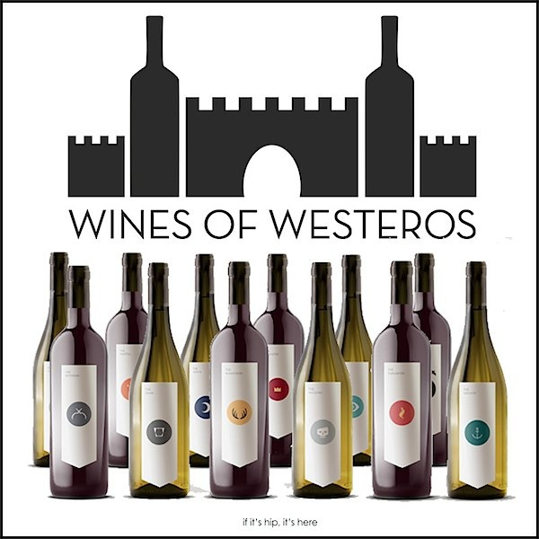 Wines of Westeros via Toby & Roo :: daily inspiration for stylish parents and their kids.
