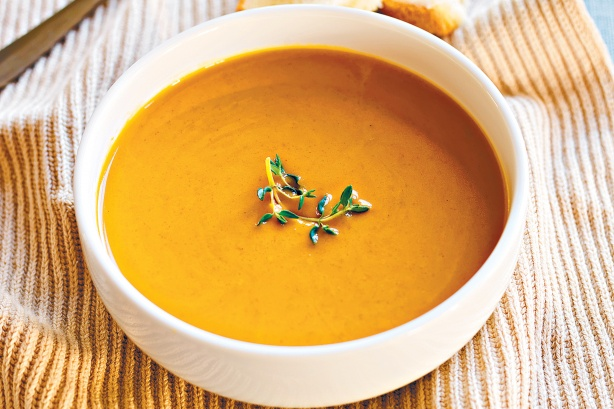 Pumpkin Soup via Toby & Roo :: daily inspiration for stylish parents and their kids.