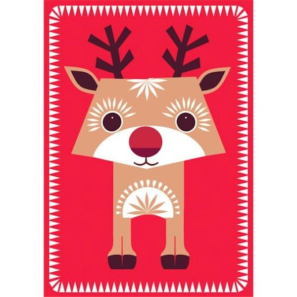 MIBO Christmas cards via Toby & Roo :: daily inspiration for stylish parents and their kids.