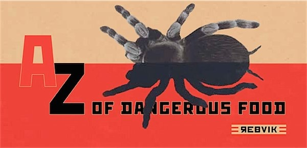 A - Z of Dangerous Foods by Rebvik via Toby & Roo :: daily inspiration for stylish parents and their kids.
