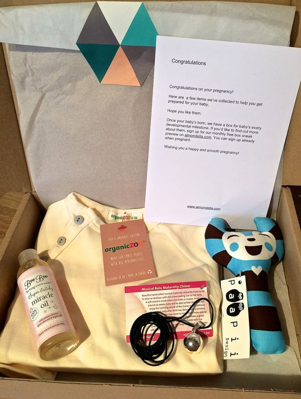 Almondella Gift Boxes The Perfect Pregnancy New Parent Christmas Gift Idea Toby And Roo