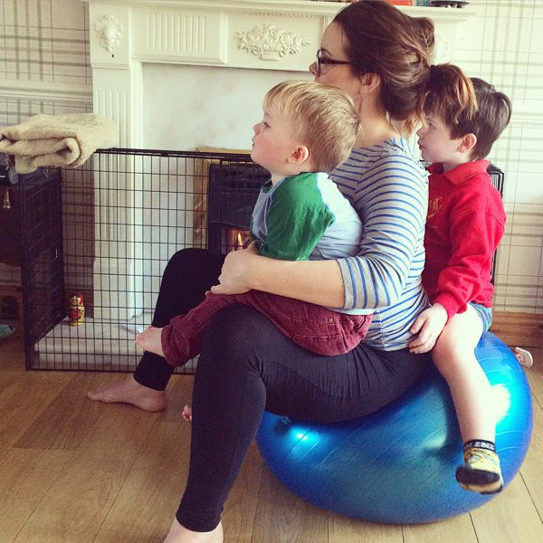 Five ways to involve your children in your pregnancy via Toby & Roo :: daily inspiration for stylish parents and their kids.