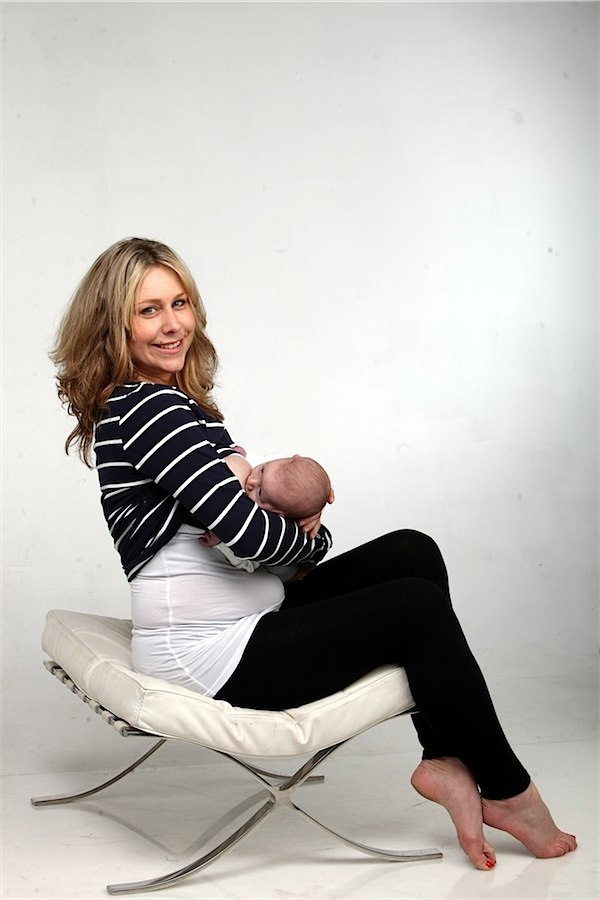 Breastvest the ultimate nursing accessory via Toby & Roo :: daily inspiration for stylish parents and their kids.