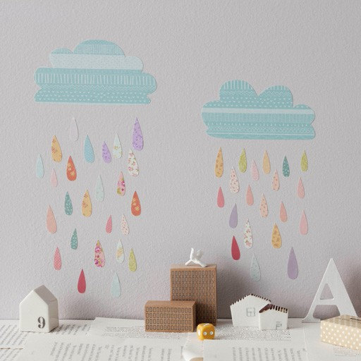 Super stylish wall decals from Love Mae via Toby & Roo :: daily inspiration for stylish parents and their kids.