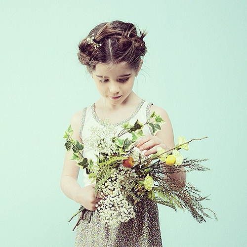 Milou & Pilou fashion for girls via Toby & Roo :: daily inspiration for stylish parents and their kids.