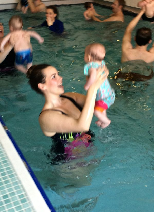 Edith starts Water Babies and we go swimming! via Toby & Roo :: daily inspiration for stylish parents and their kids.