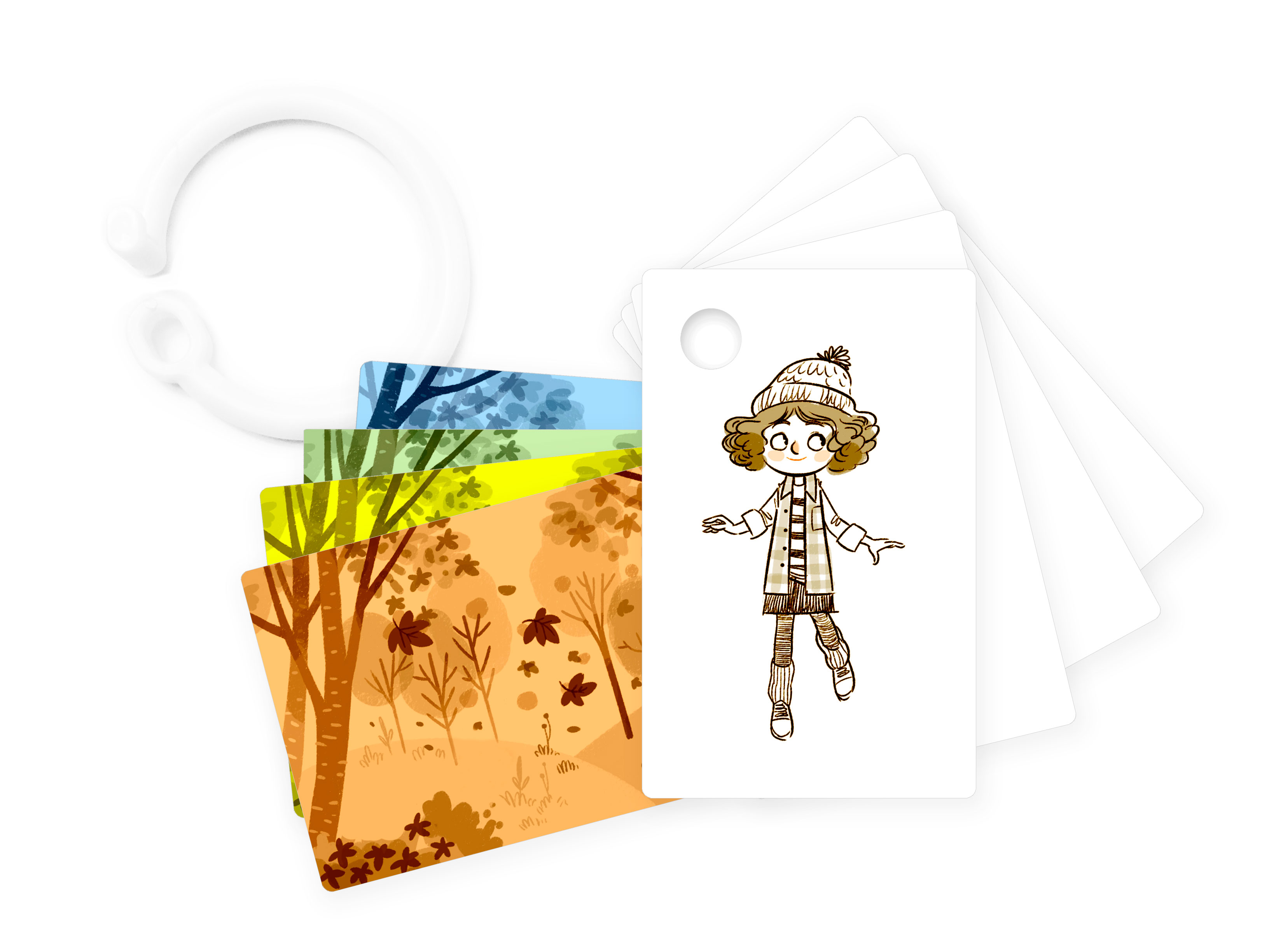 Educational wallet cards from So Awesome via Toby & Roo :: daily inspiration for stylish parents and their kids.