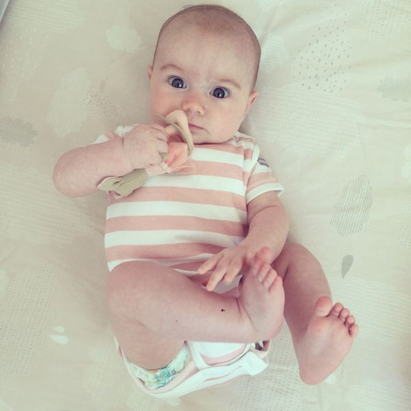 Dribble stop tops via Toby & Roo :: daily inspiration for stylish parents and their kids.
