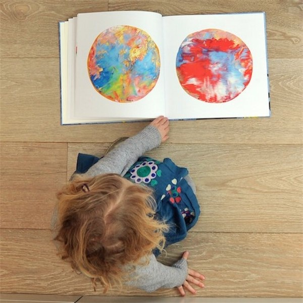 Kids art books from Doodle Nest via Toby & Roo :: daily inspiration for stylish parents are their kids.