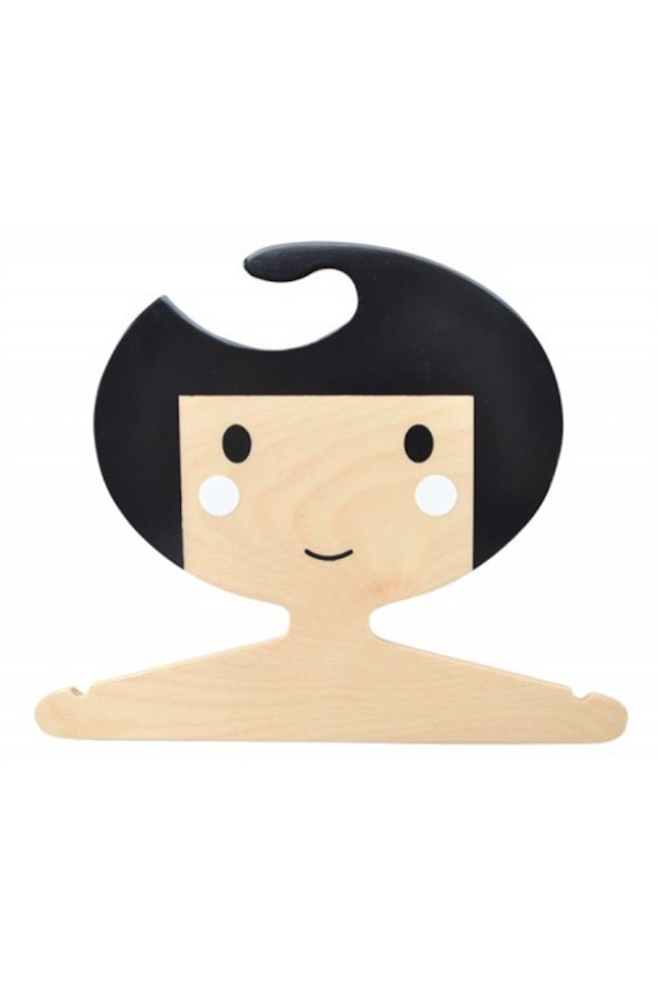 Adorable hangers from Red Hand Gang via Toby & Roo :: daily inspiration for stylish parents and their kids.