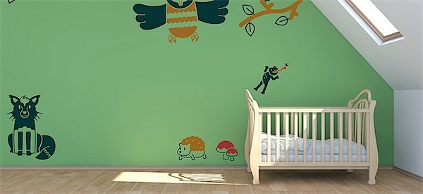 3 Savvy ways to keep redecorating your child's room without breaking the bank via Toby & Roo :: daily inspiration for stylish parents and their kids.