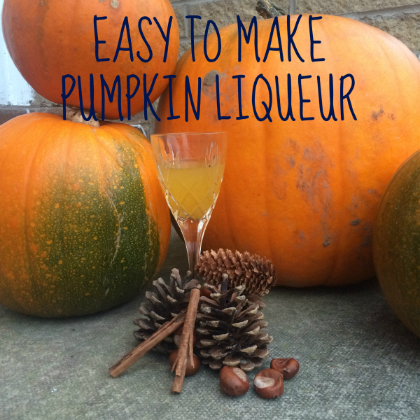 Pumpkin liqueur Recipe via Toby & Roo :: daily inspiration for stylish parents and their kids.