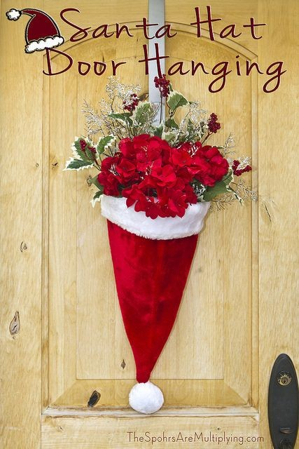 7 Alternative ideas for decorating your front door this Christmas via Toby & Roo :: daily inspiration for stylish parents and their kids