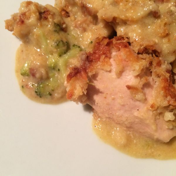 Chicken in bed :: quick family dinner ideas that taste delicious!