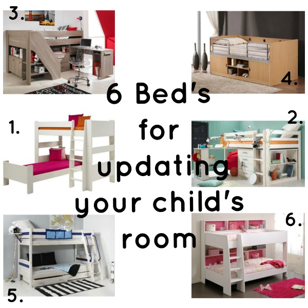 6 Beds for children that will update their room via Toby & Roo :: daily inspirations for stylish parents and their kids