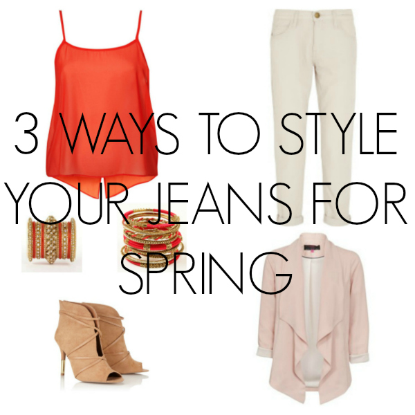 3 ways to style your jeans for Spring via Toby & Roo