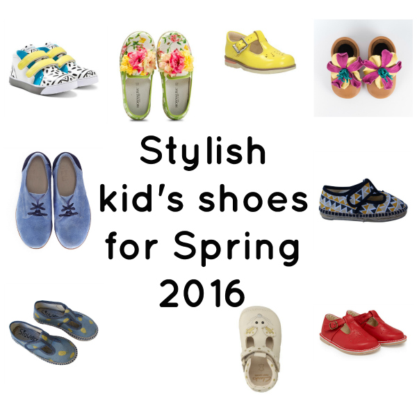 My wishlist of stylish kids shoes for spring! via Toby & Roo :: daily inspiration for stylish parents and their kids.
