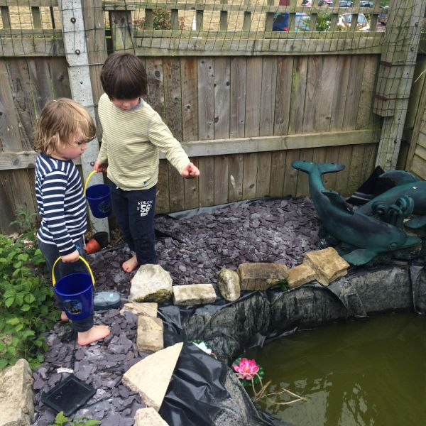 Pond safety with kids & why you should have one.