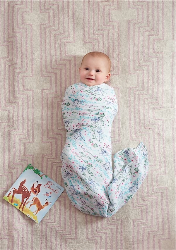 Disney (boutique) bambi swaddles