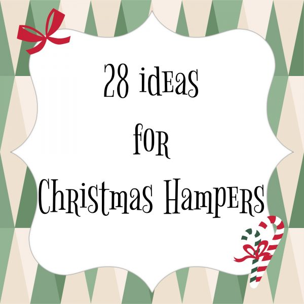 28 Ideas For Christmas Hampers Toby And Roo